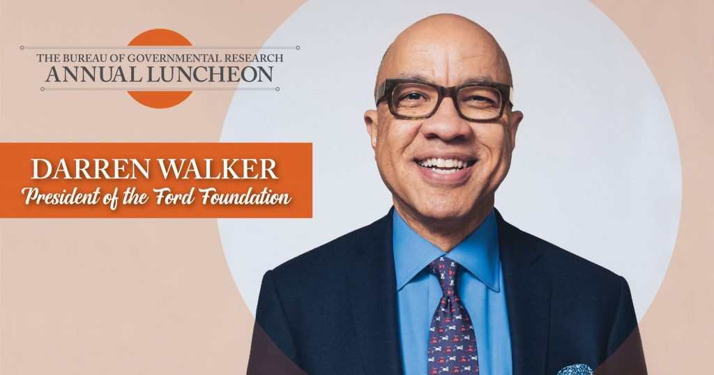 BGR 2021 Virtual Annual Luncheon Featuring Darren Walker, President of the Ford Foundation