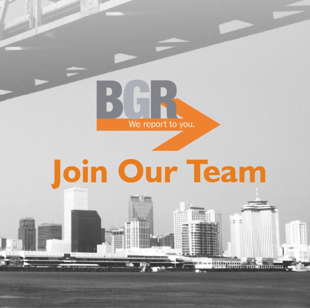 BGR Job Opportunity